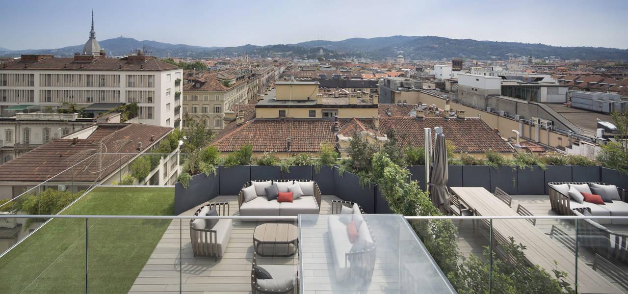 Déco per la residenza LaGrange12 a Torino