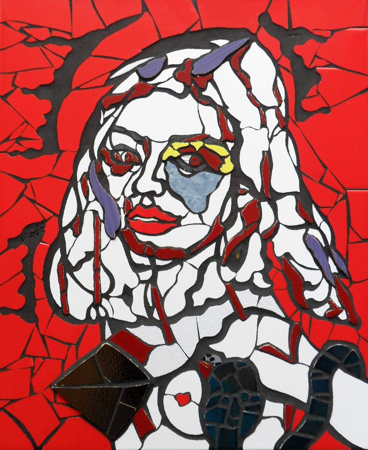 Orodè Deoro: Più grande poesia senza mani per te volare (cm 50x60)