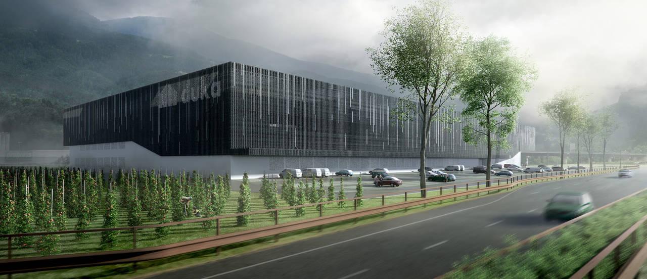 Nuovo stabilimento duka a Bressanone