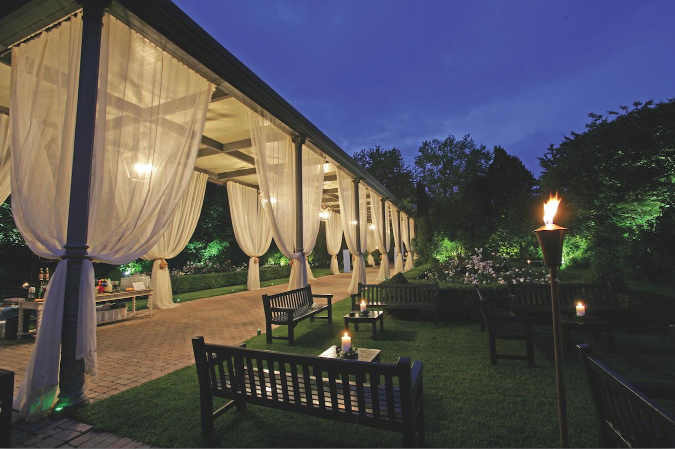 Paghera designs the outdoors area for Paghera giardini