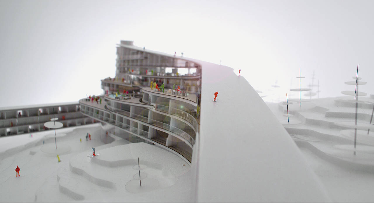 Lillehammer ski resort area for Ski design hotel