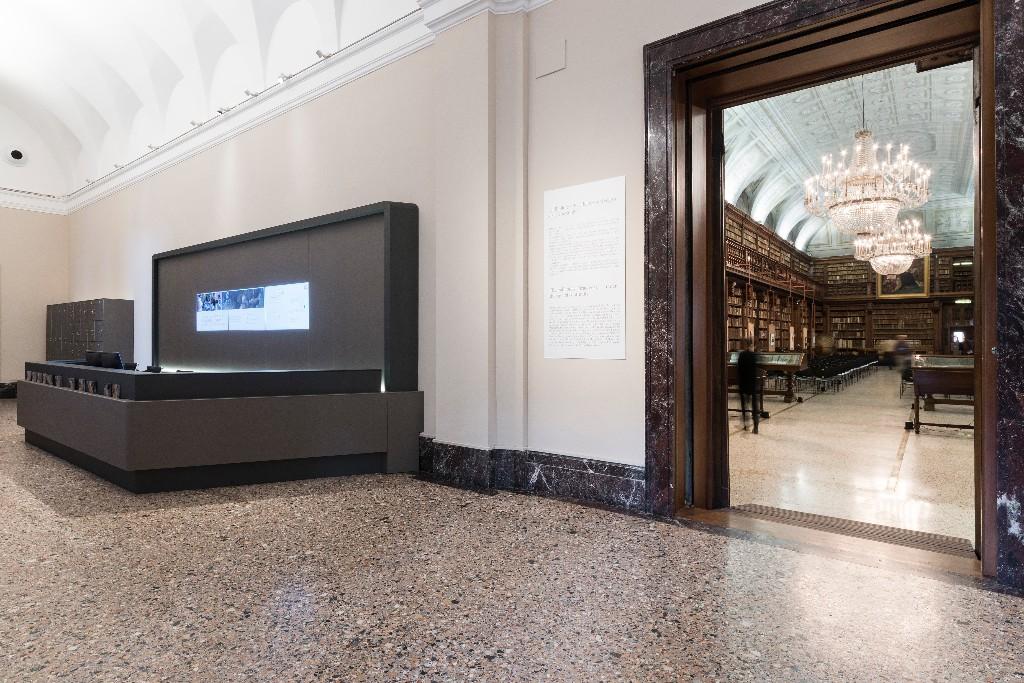 Arpa Industriale per l'area accoglienza della Pinacoteca di Brera