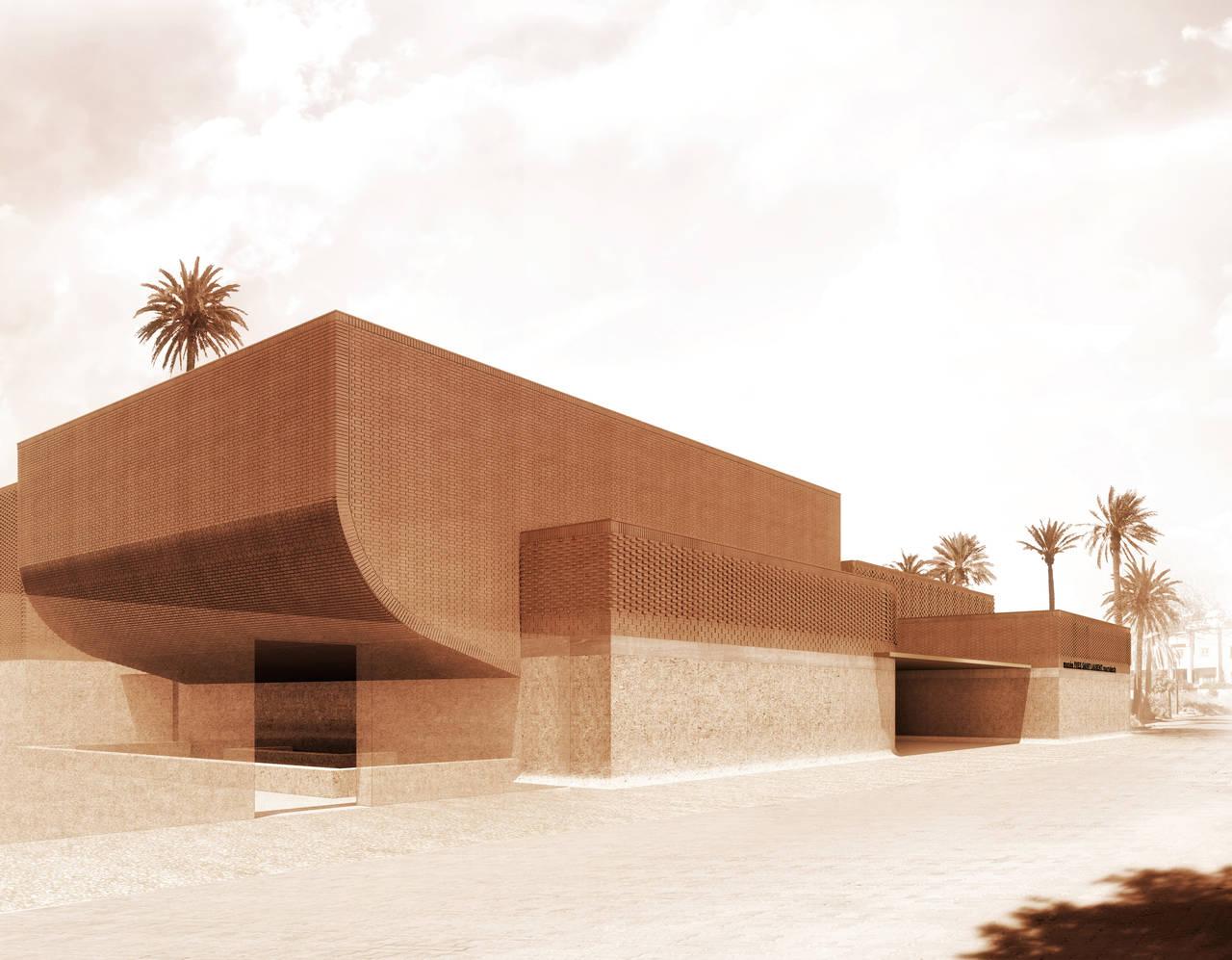 Duravit per il nuovo Musée Yves Saint Laurent di Marrakech