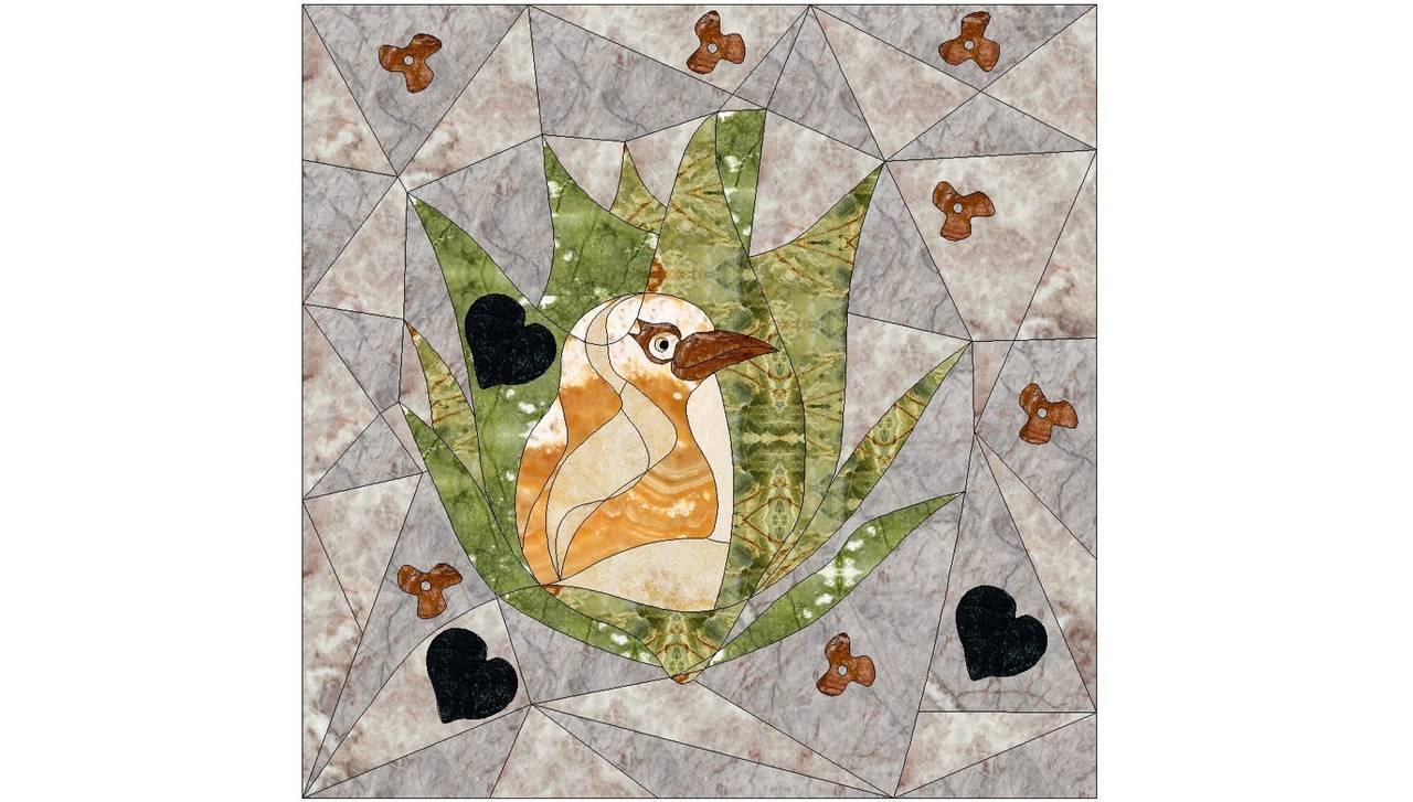 Collezione di intarsi disegnata da Assia Karaguiozova