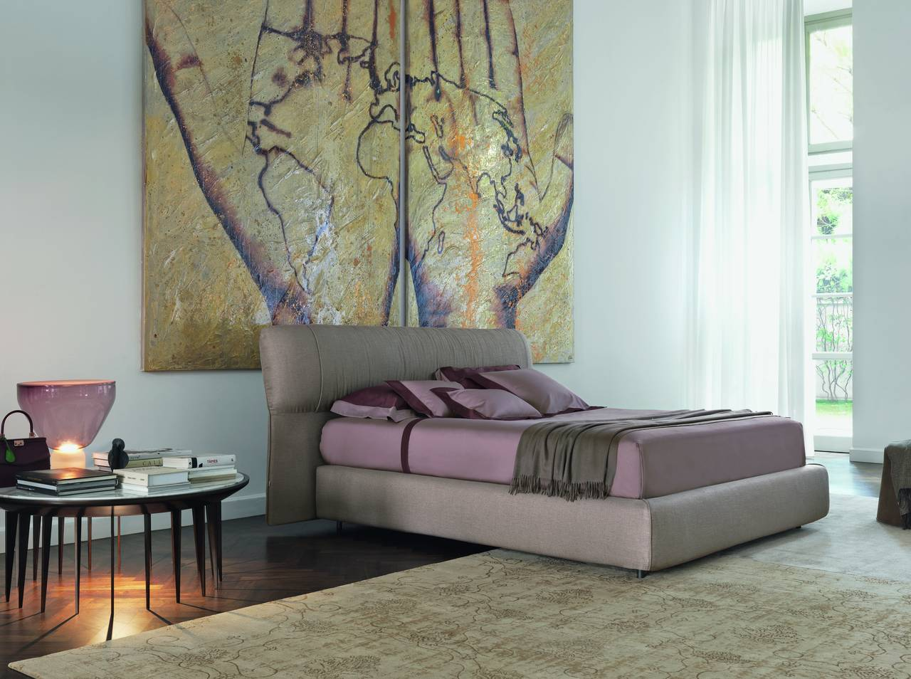 Letto Softwing - design Carlo Colombo