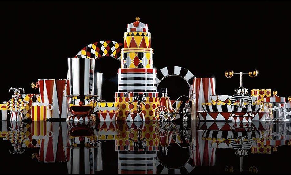 Alessi circus mondo magico disegnato da marcel wanders for Circus studio milano