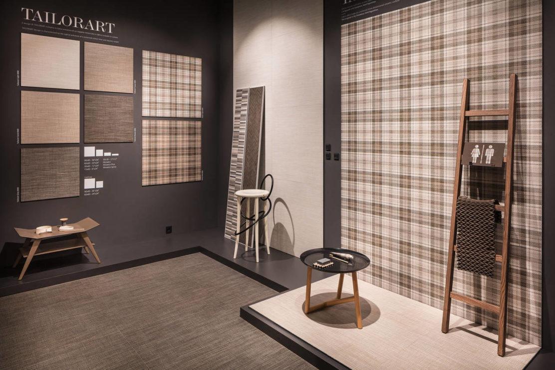 effetto tridimensionale tailorart by ceramica sant 39 agostino. Black Bedroom Furniture Sets. Home Design Ideas