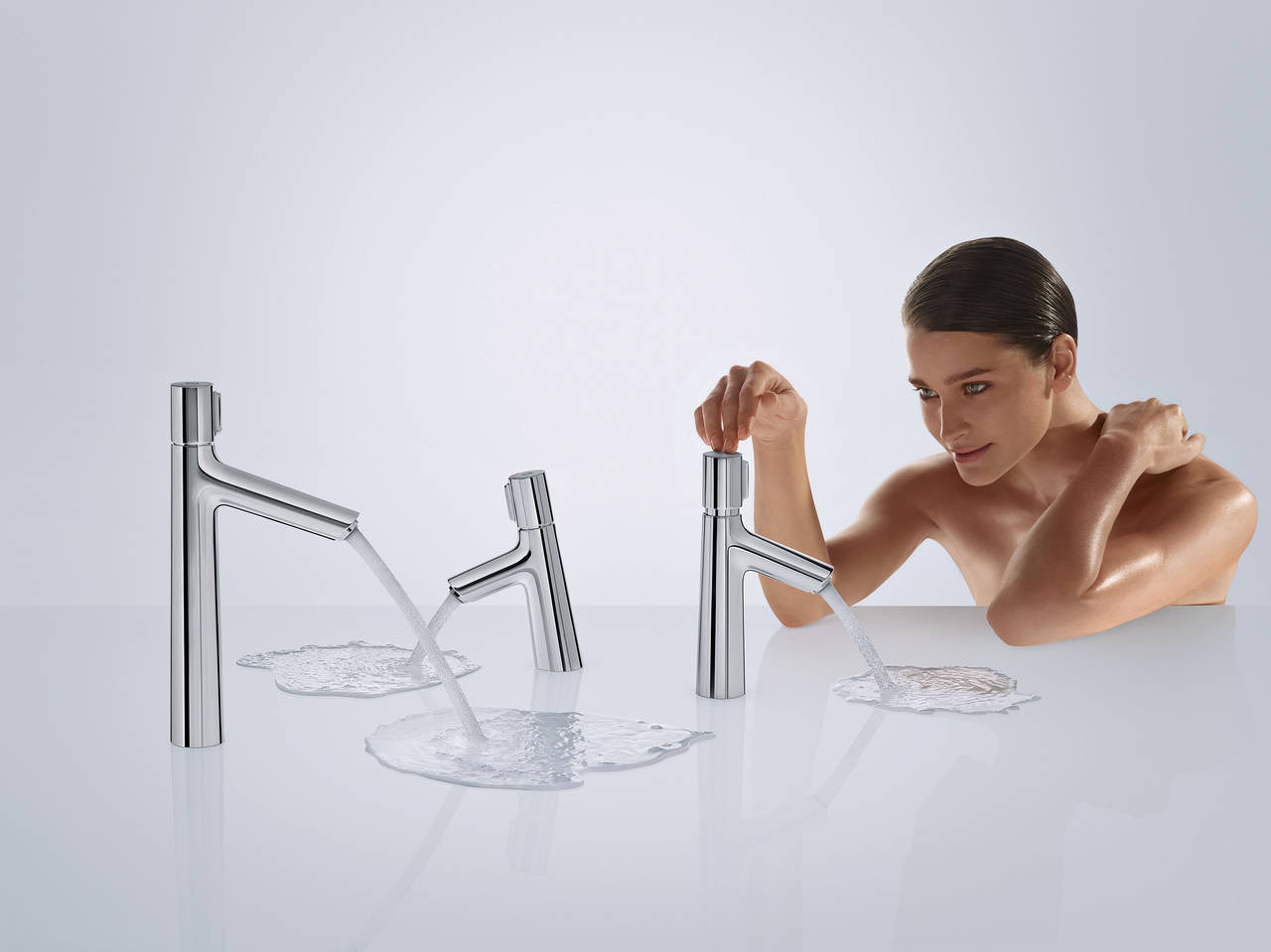 Talis Select S by Hansgrohe è disponibile in altezze diverse