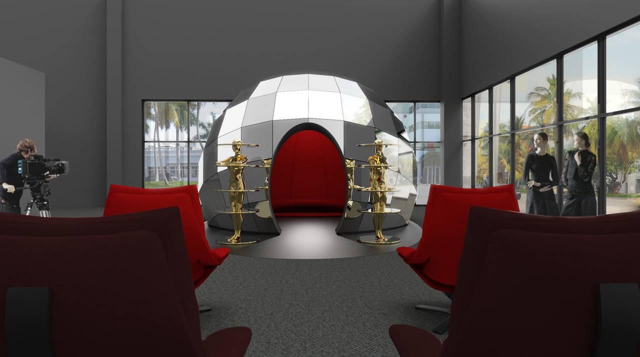 Natuzzi per l'installazione Intro di Fabio Novembre a Miami