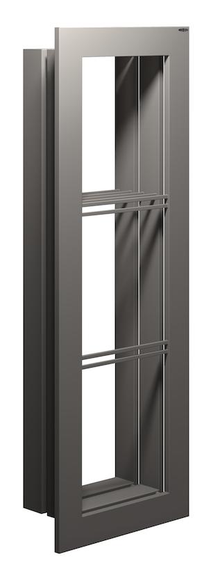 Tra estetica e tecnologia portasalviette brem area for Portasalviette bagno design