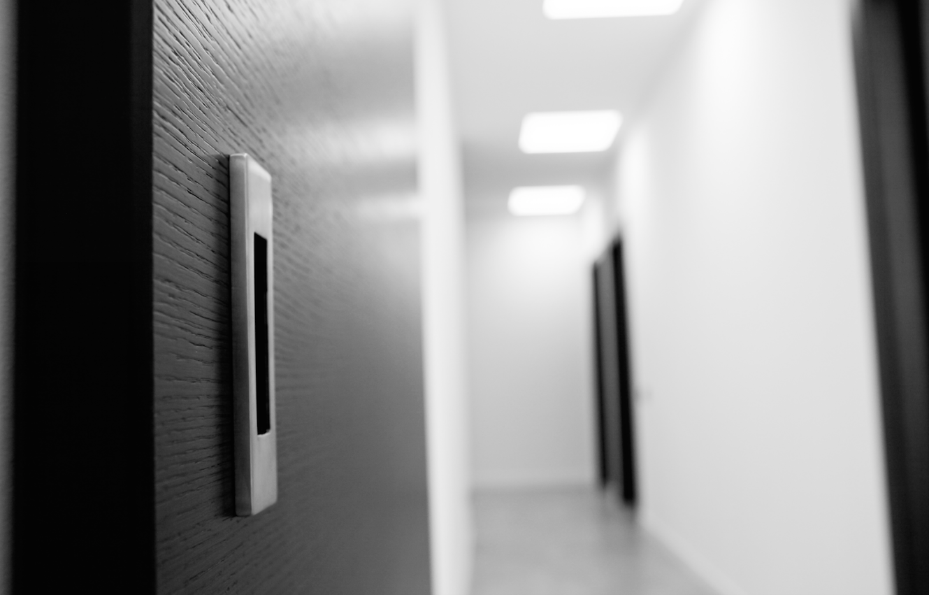 Le porte Effebiquattro della collezione Mood sono state scelte per il nuovo centro direzionale