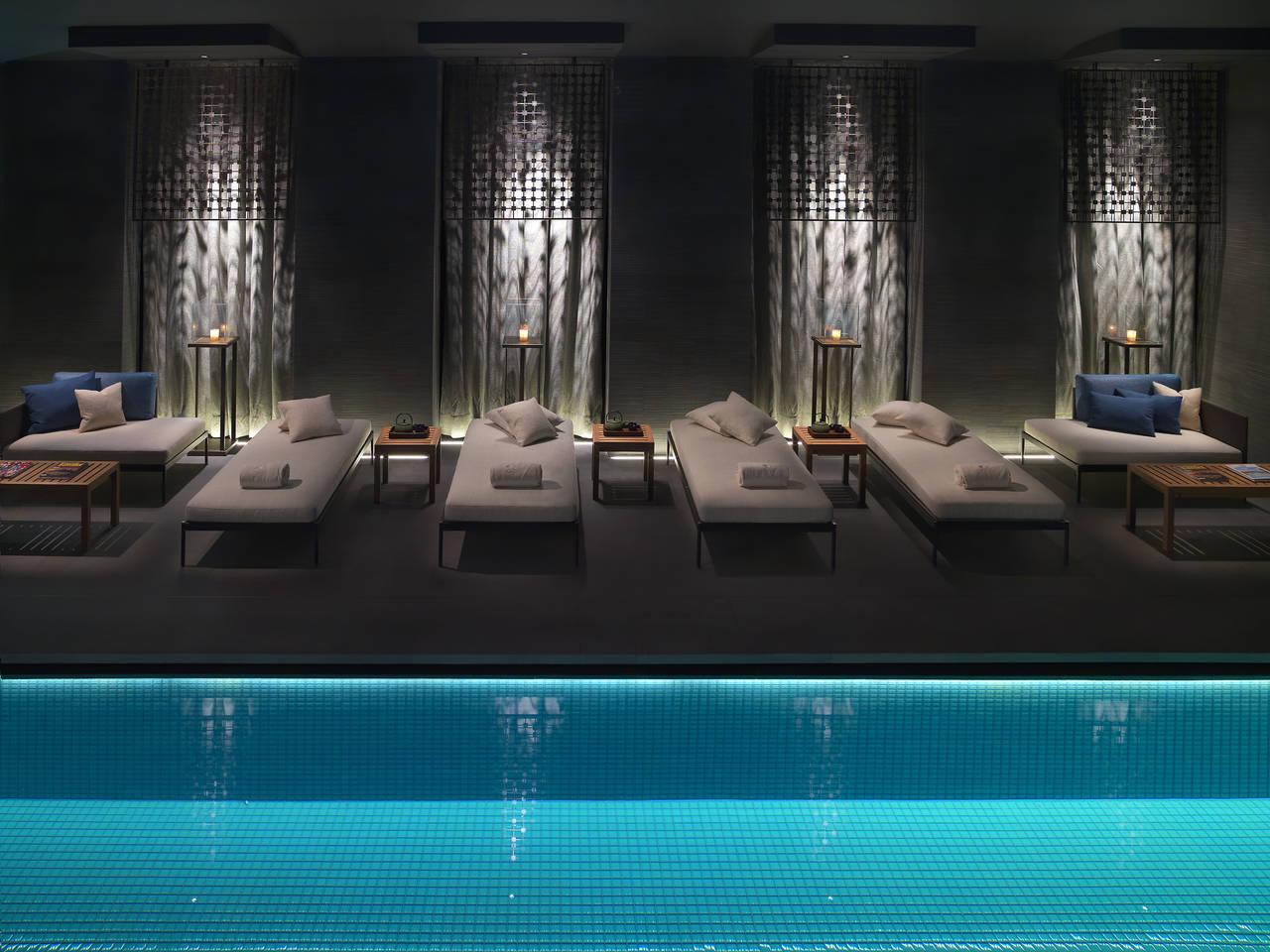Starpool per la spa del Mandarin Oriental Milano