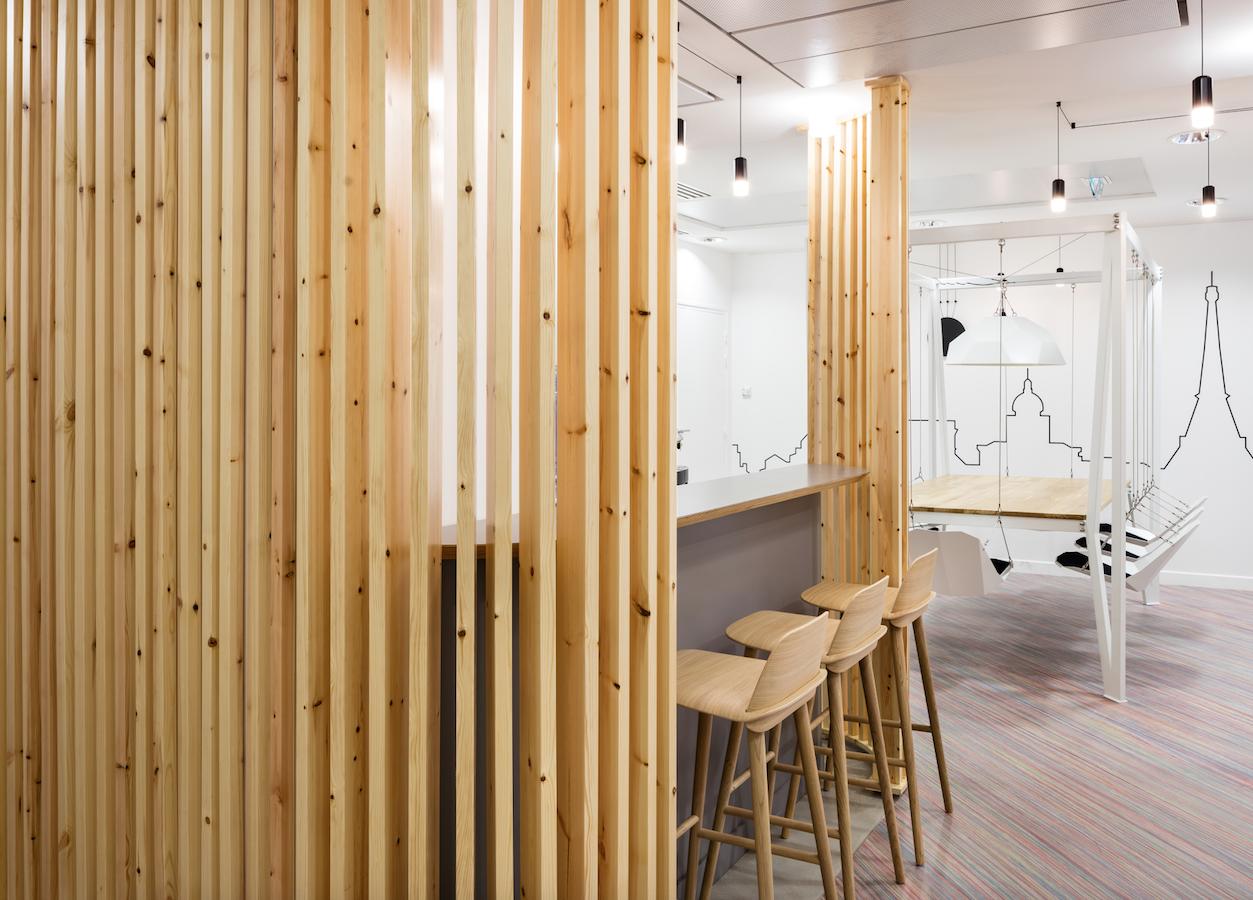 Vibia per i nuovi spazi-uffici di Parisienne Assurances
