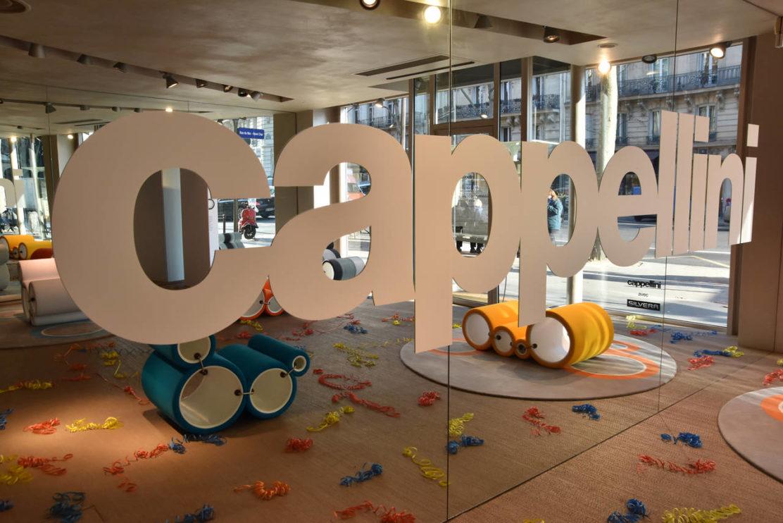 Cappellini omaggia la Tube Chair di Joe Colombo a Parigi