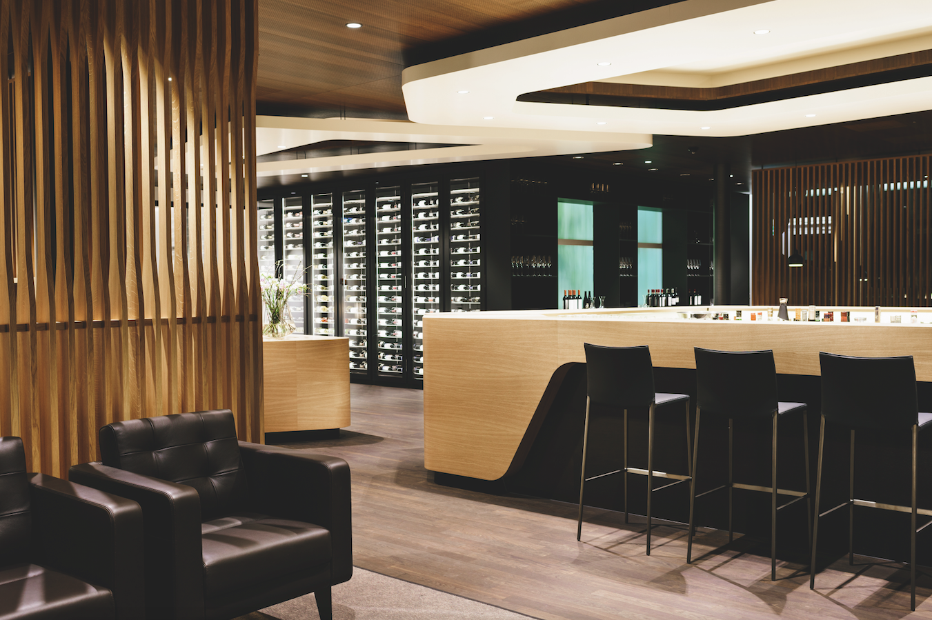 Le nuove lounges di SWISS