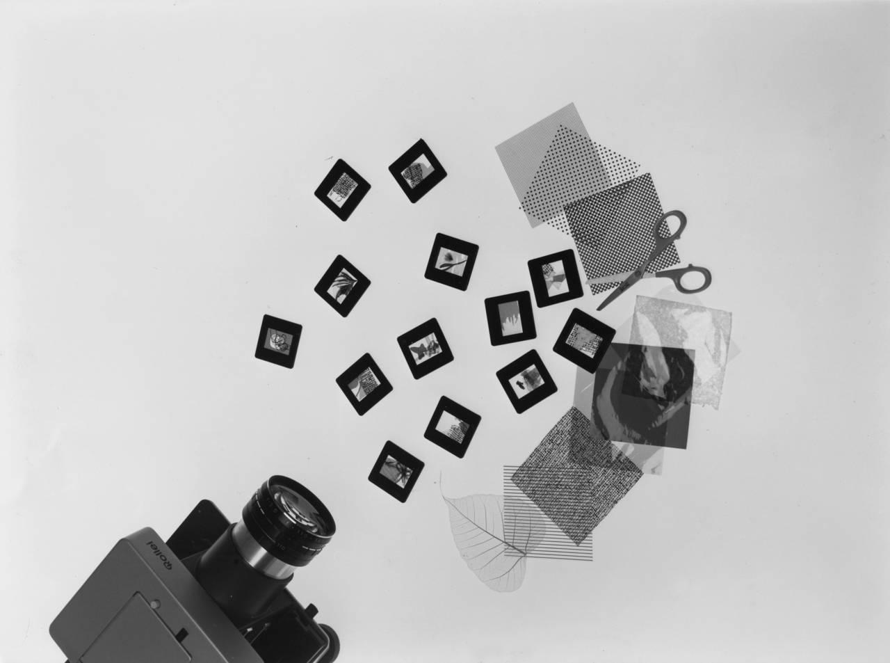 Proiezioni dirette, anni Cinquanta. © Roberto Marossi, courtesy Fondazione Jacqueline Vodoz e Bruno Danese