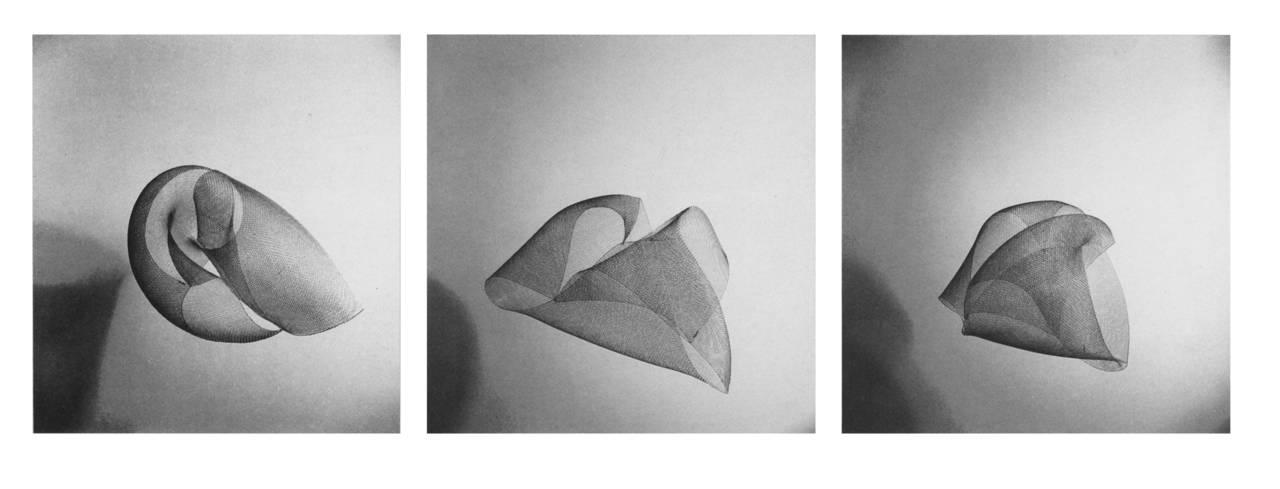 Proiezioni dirette, anni Cinquanta. © Aldo Ballo, courtesy Fondazione Jacqueline Vodoz e Bruno Danese