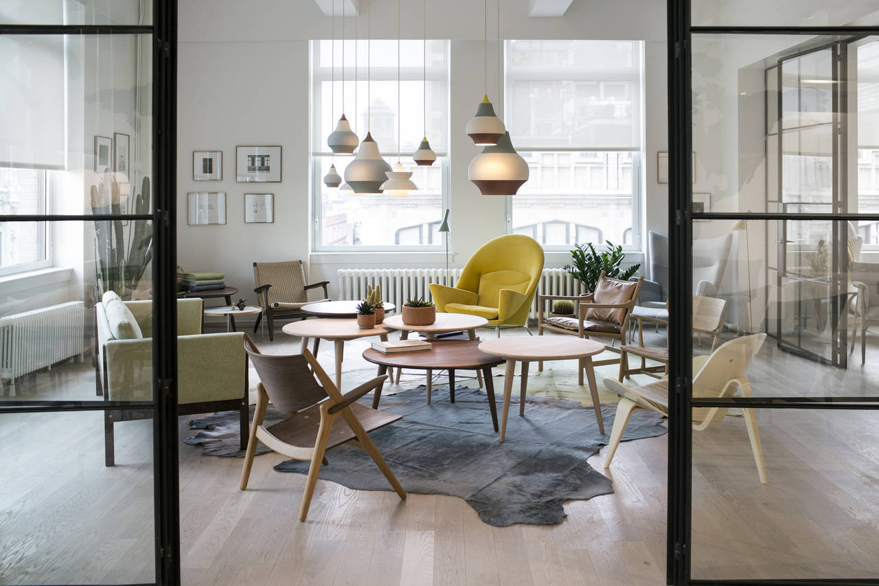 Nuovo showroom Carl Hansen & Son a New York