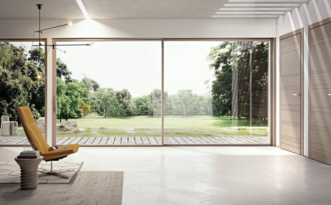 Porte e finestre coordinate il total look di pail area - Spi porte e finestre ...