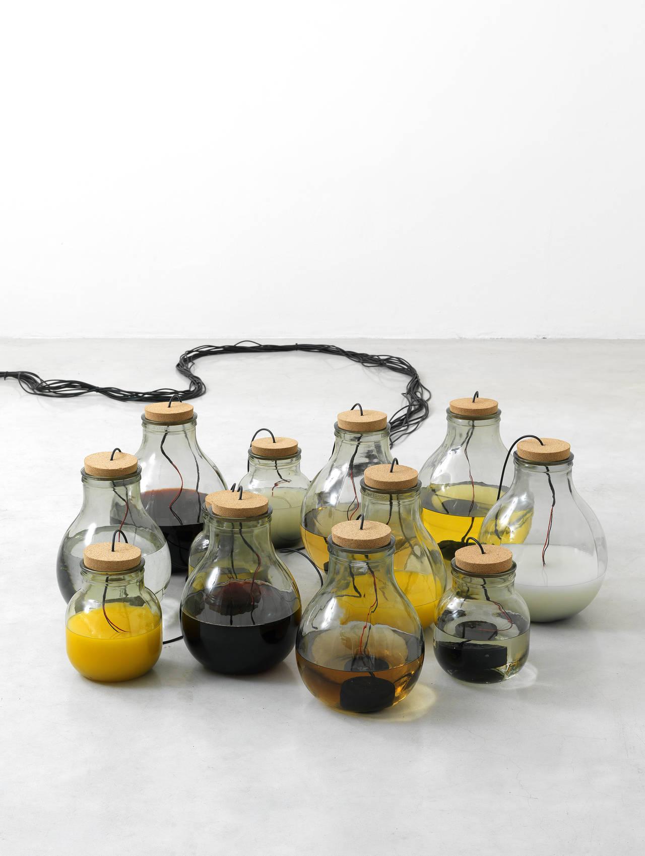 Roberto Pugliese, Fluide propagazioni alchemiche 2014, installazione sonora - Courtesy Studio la Città Verona - foto Michele Alberto Sereni