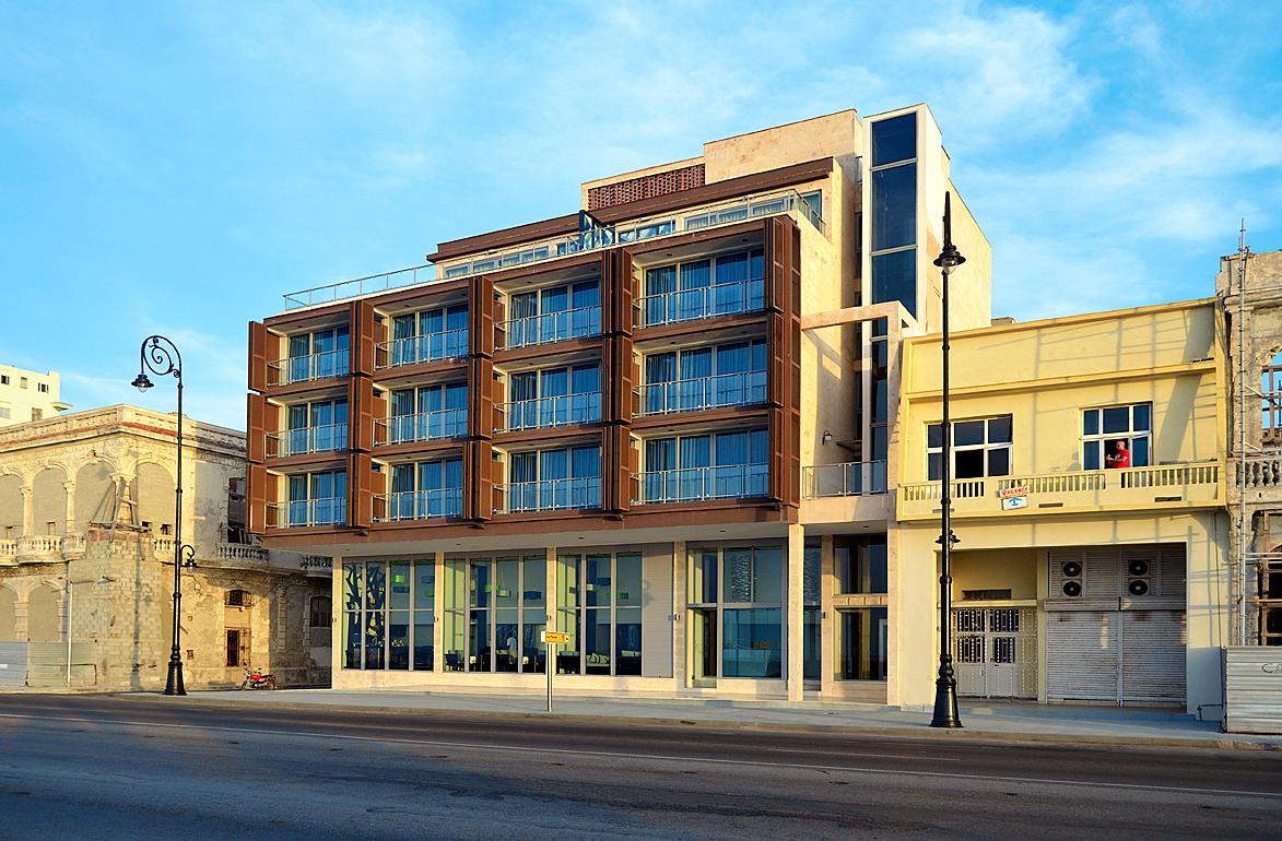 Hotel terral area for Area 51 progetti