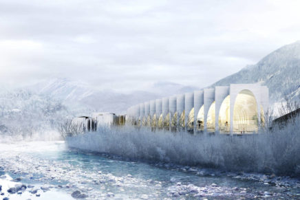 BIG was announced the winner of the San Pellegrino Flagship Factory contest