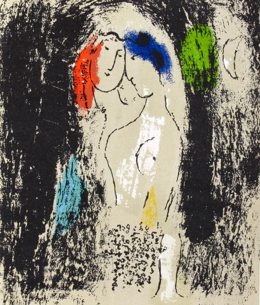 13-Chagall Lea amoureux en gris