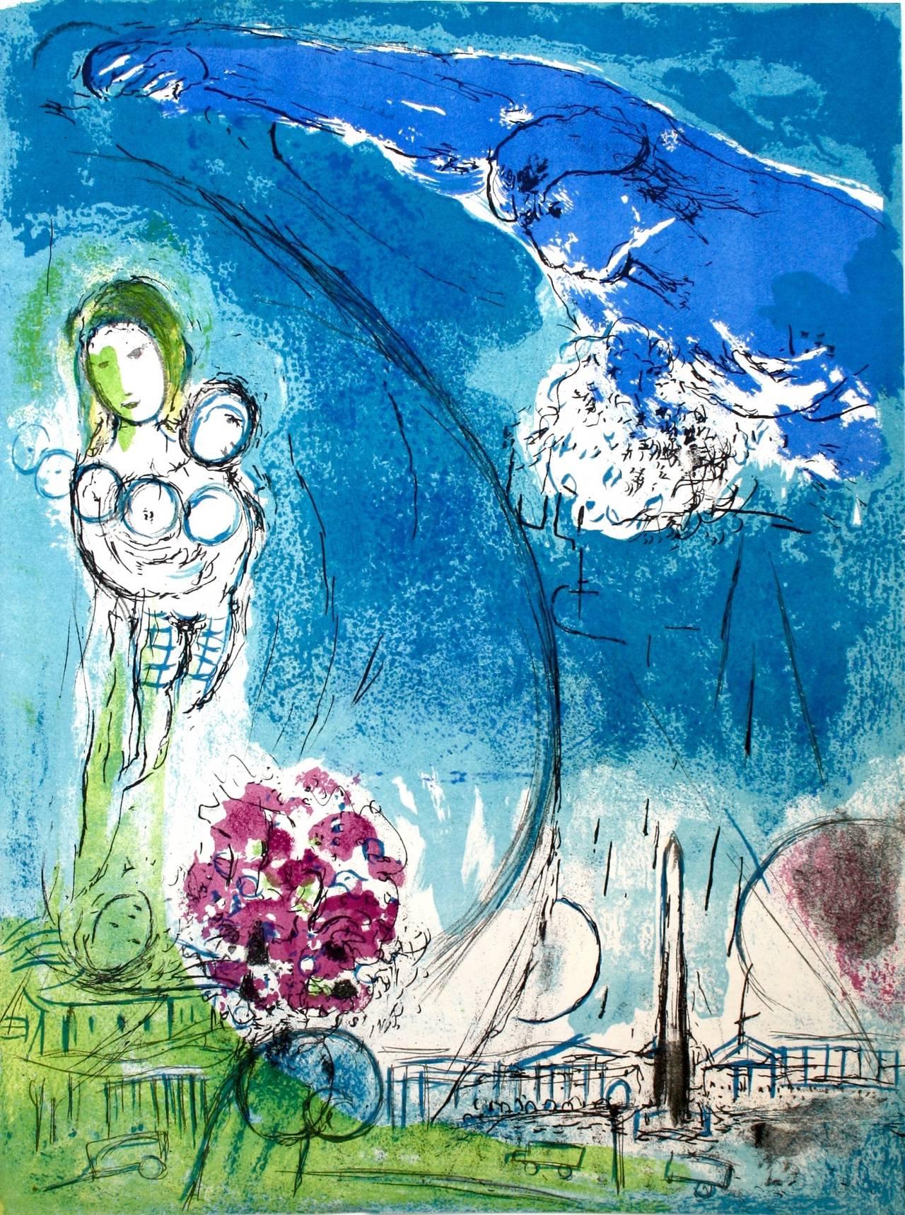 3-Chagall Place de la Concorde