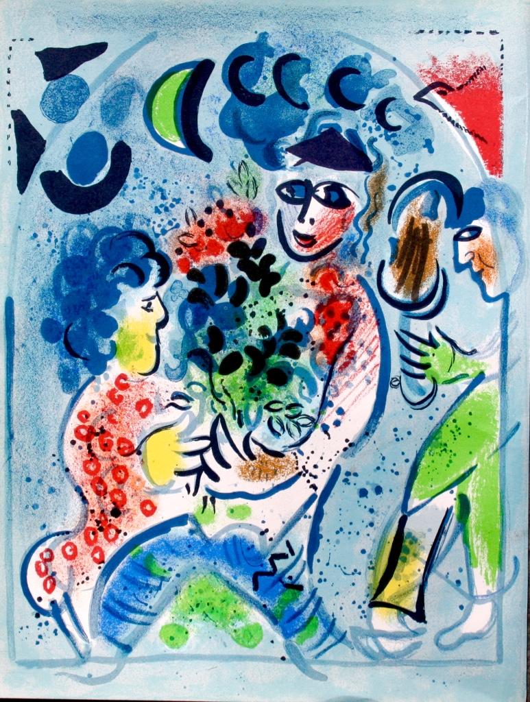 46-Chagall Le Rendez-vous