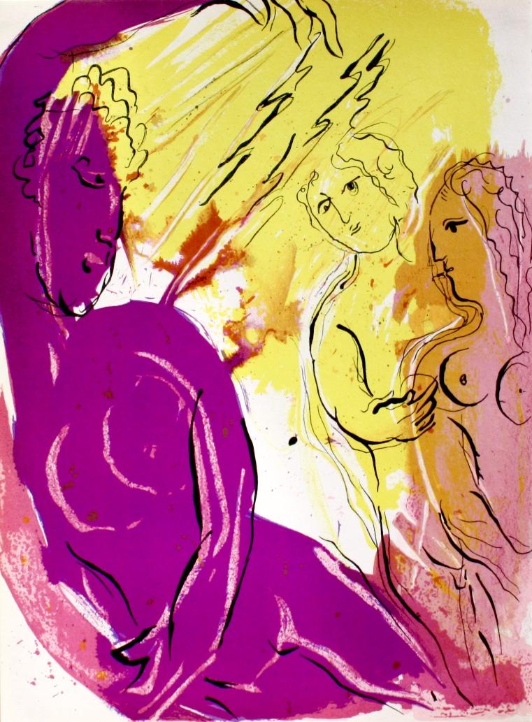 6-Chagall Ange du paradis
