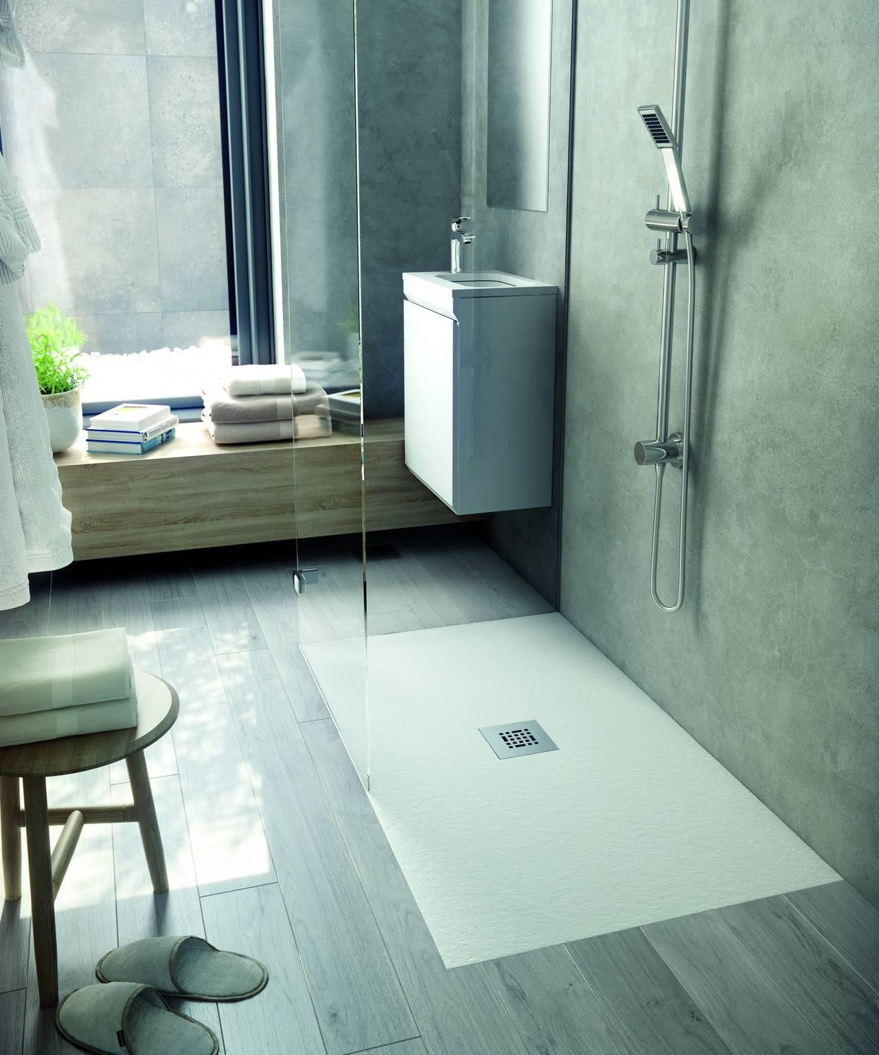 Innovazione anche nel piatto doccia area - Piatto doccia incassato nel pavimento ...