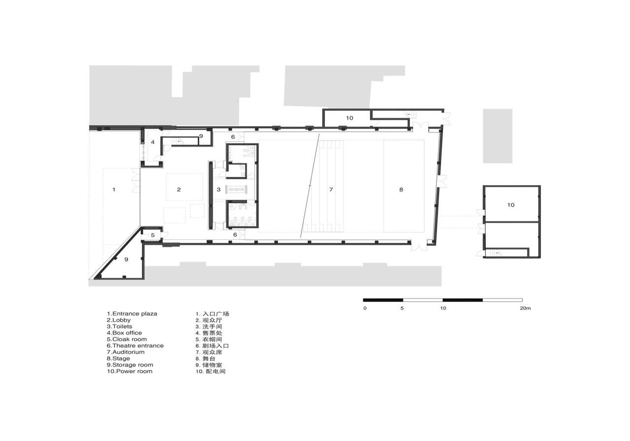 New shanghai theatre area for Deckplan com piani di coperta gratuiti