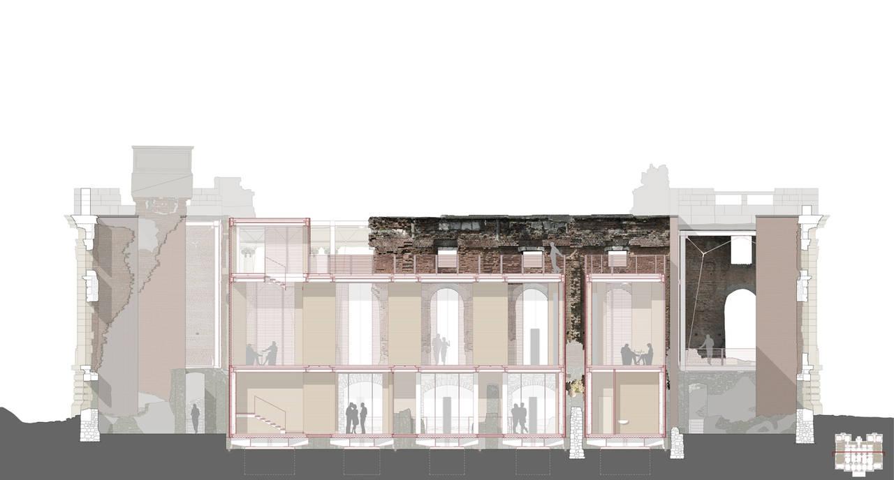 ORO_Micul Trianon di Floresti, progetto di restauro e riuso del palazzo della famiglia Cantacuzino