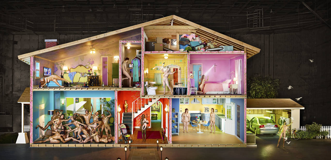 Self Portrait as House, 2013 - ©LaChapelle