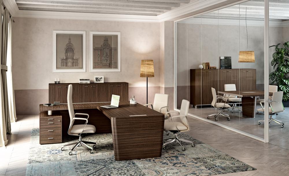 Arredi Per Ufficio Quadrifoglio : X scrivania scultorea di the quadrifoglio group area