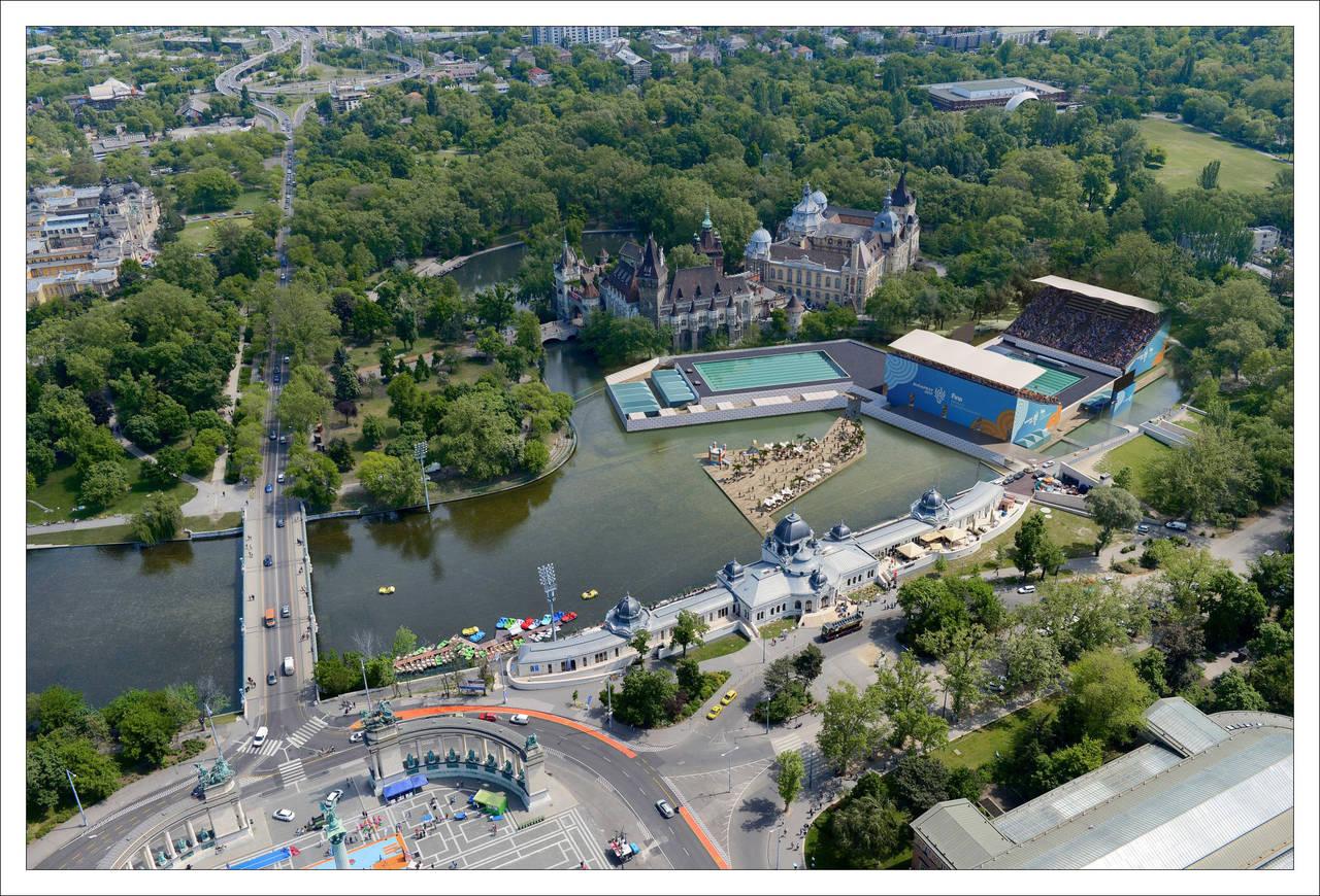 Myrtha Pools per i campionati mondiali di nuovo a Budapest