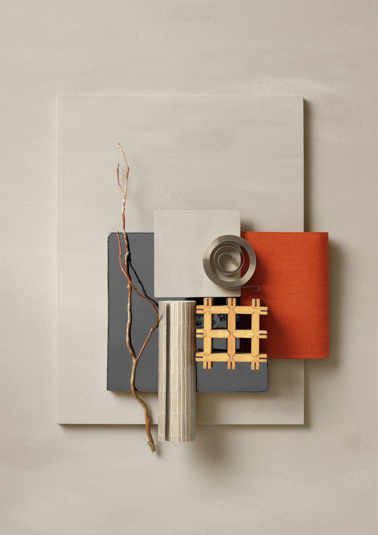 Neutral Concrete è la sfumatura ideal per creare uno sfondo forte ma al contempo calmo