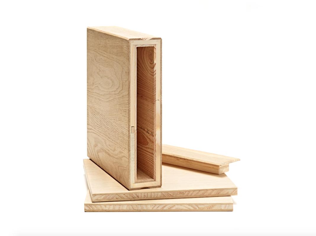 Profilato in legno biocompatibile