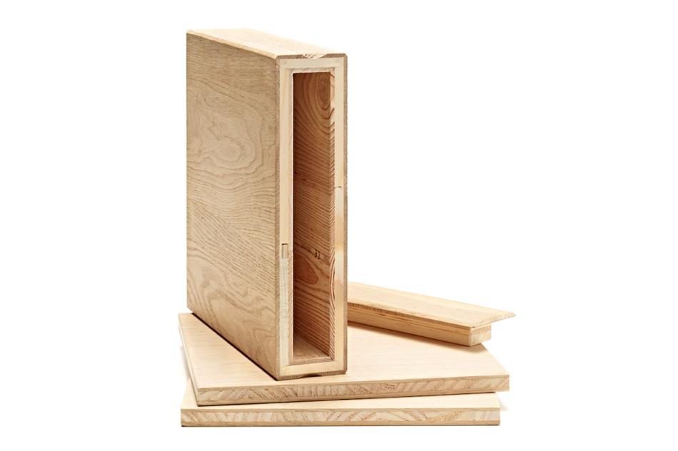 """Profilato in legno biocompatibile """"DisegnoDilegno"""""""