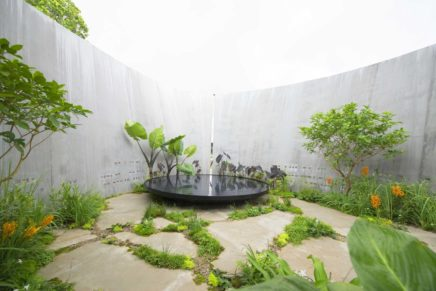 'Silence' showgarden