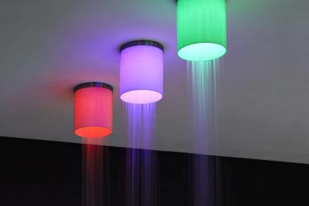 Iride, la lanterna di acqua e luce di antoniolupi