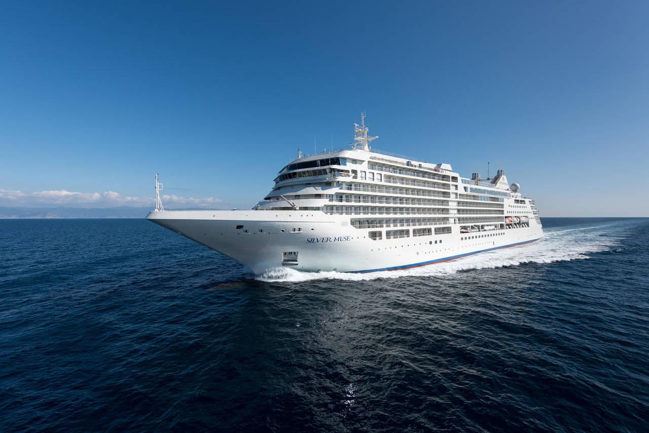 La nuova nave da crociera Silver Muse