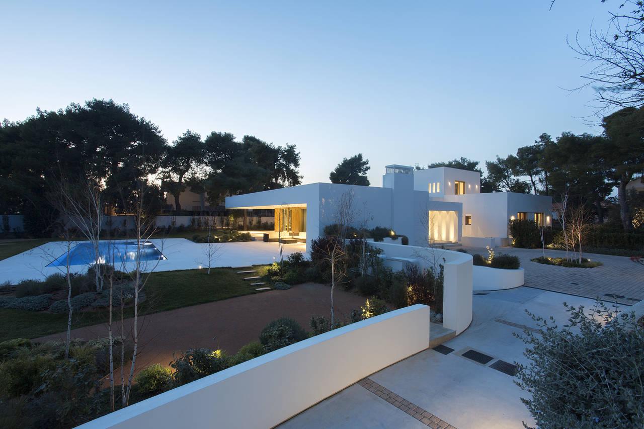 Linea Light Group per una residenza per un lussuoso residence ad Atene (Grecia)