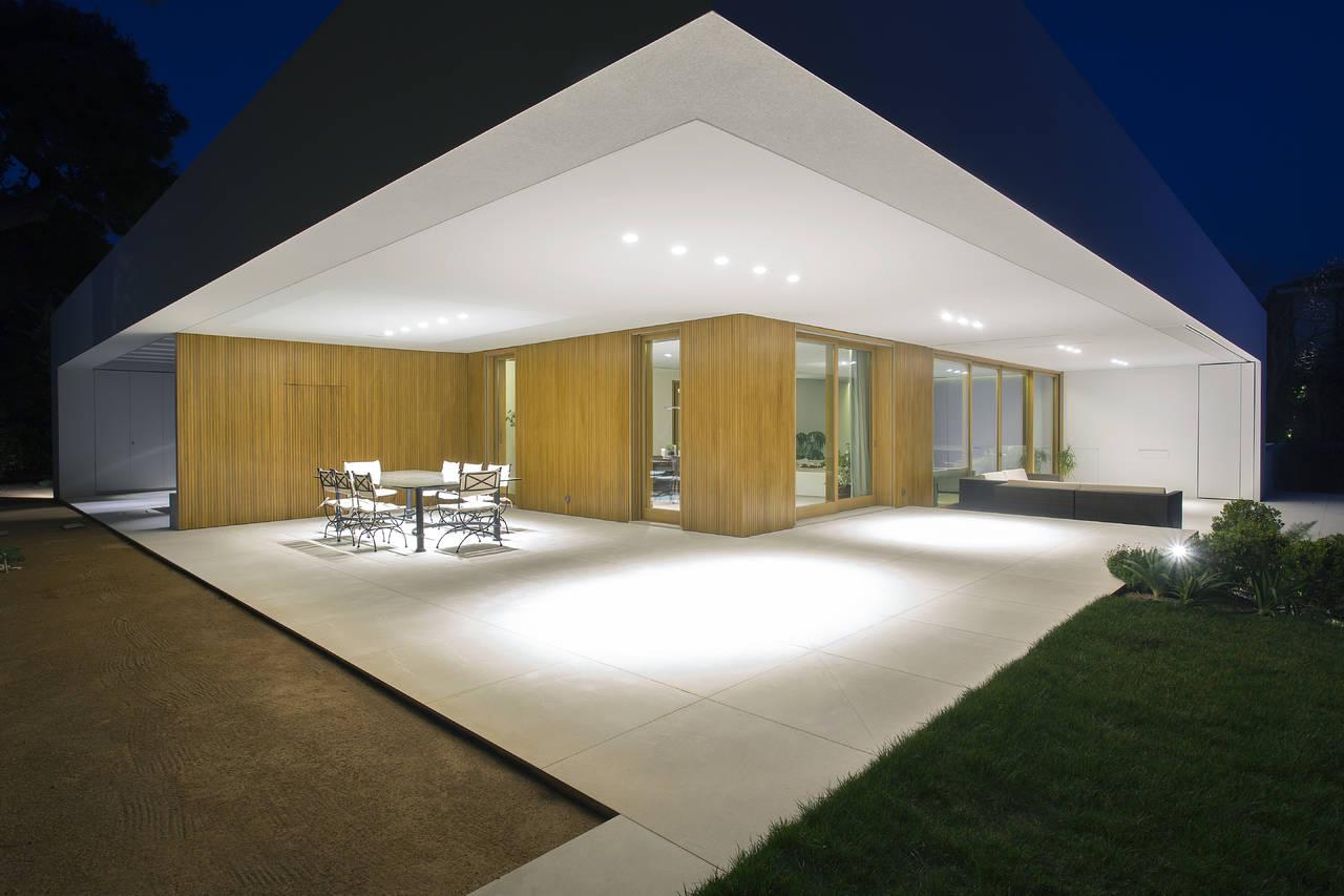 Linea light group per un residence ad atene grecia area