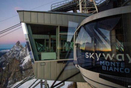 """Annunciati i vincitori del """"Concorso di idee"""" per il museo di Skyway Monte Bianco"""