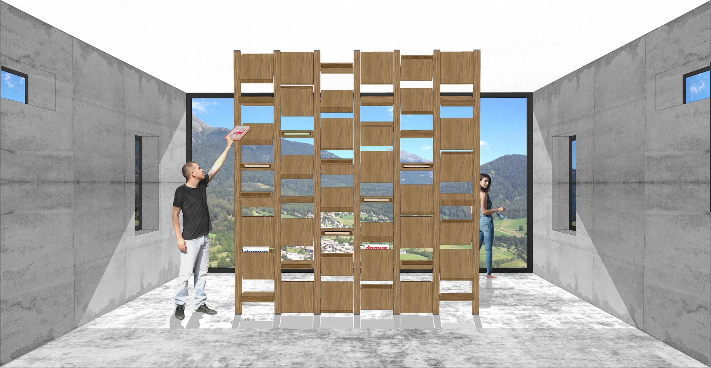 Der Revolution progetto Arch. Paride D'Alessandro