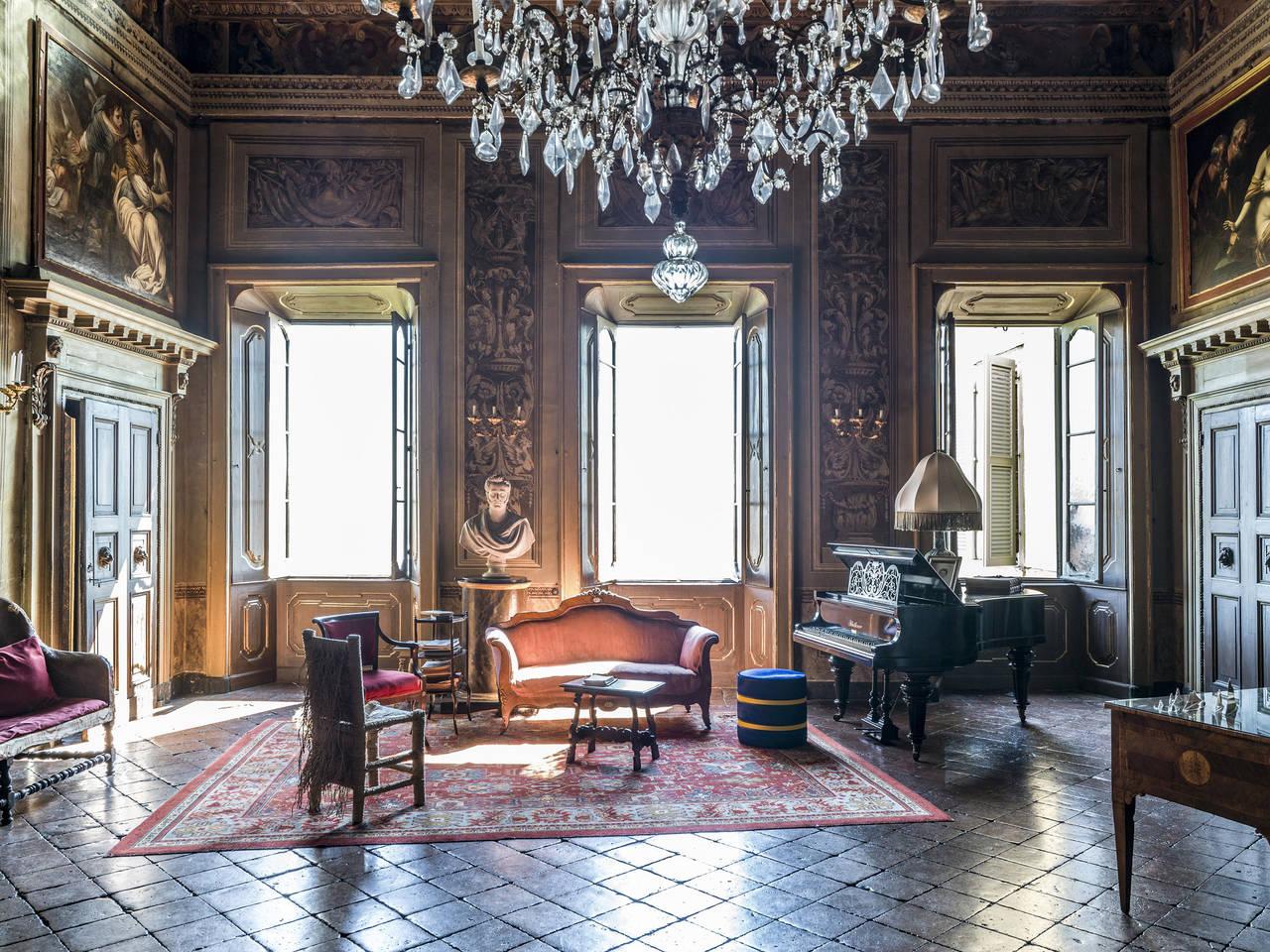 Palazzo Terzi, Bergamo. ©Ezio Manciucca