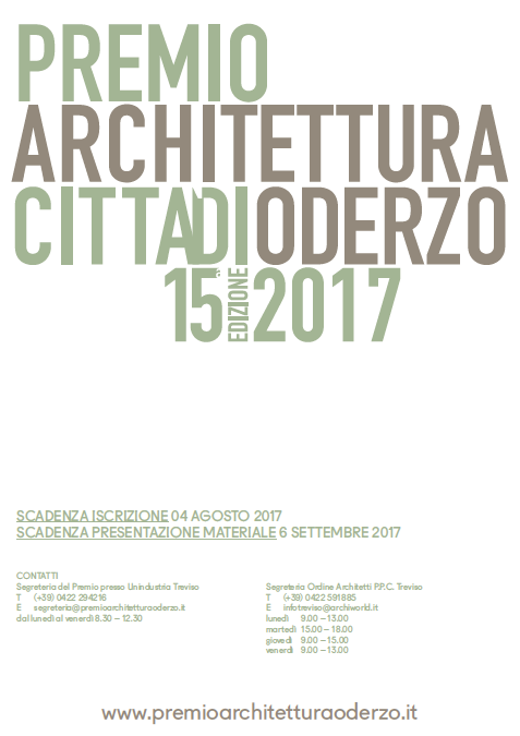 Premio Architettura Città di Oderzo