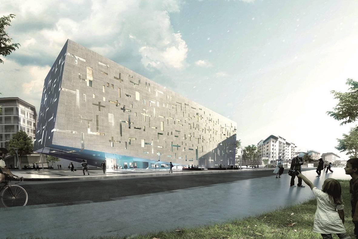 Nuovo headquarter gruppo cap area for Nuovo design del paesaggio inghilterra