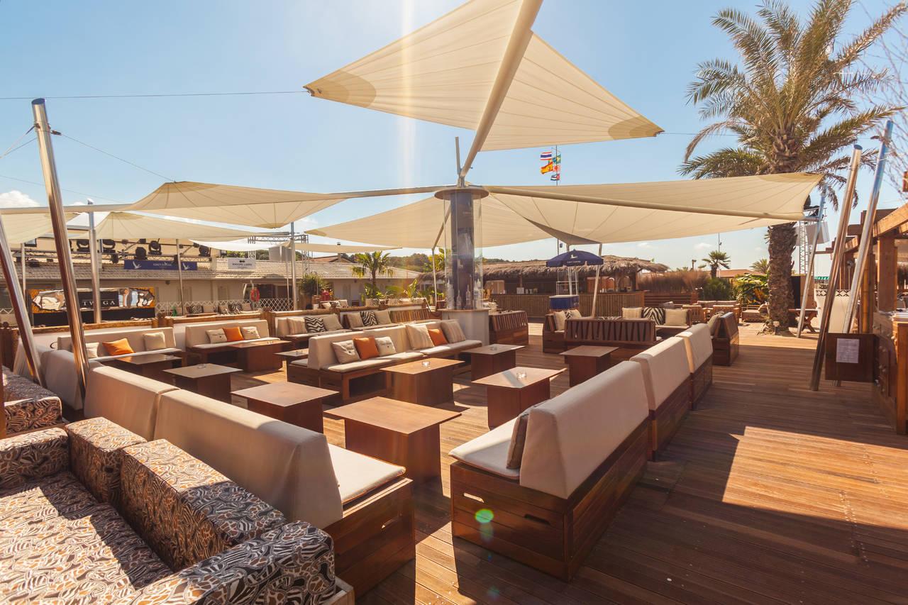 KE per il Twiga Beach Club di Marina di Pietrasanta (LU)